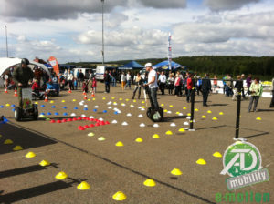 Segway Outdoors Parcours von ATD Mobility