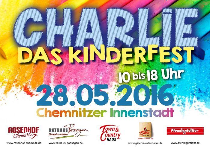 CHARLIE Das Kinderfest 2016 in Chemnitz