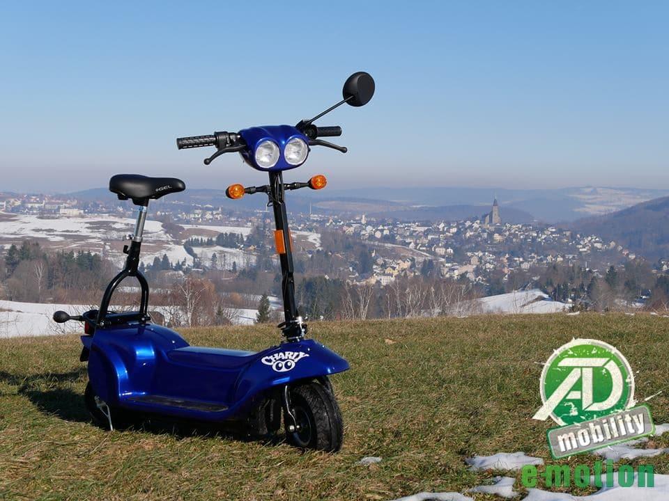 Charly – Der Elektroroller aus dem Erzgebirge
