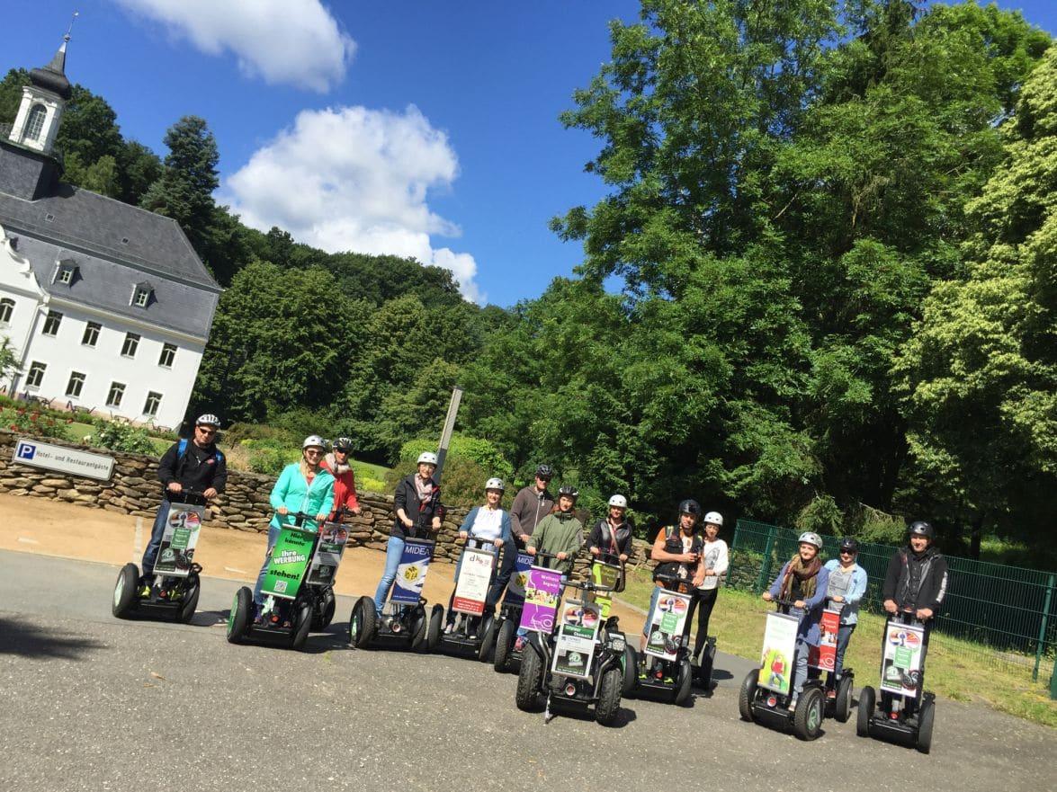 15. Mai Restart Segwaytouren & mobiler Segway-Fun-Parcour !
