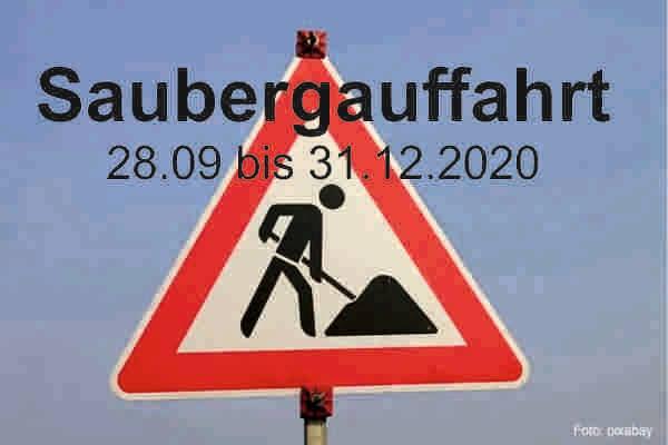 "Baustelle – keine ""Saubergtour"""